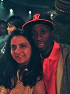 chris ellis & reshma b