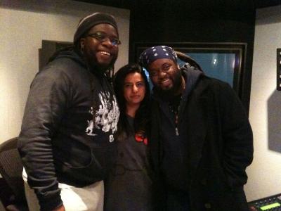reshma-b & mr-mojo and peetah morgan